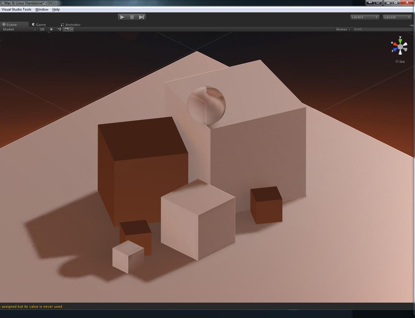 Unity 5: Issues lightmapping with shaders containing Opacity
