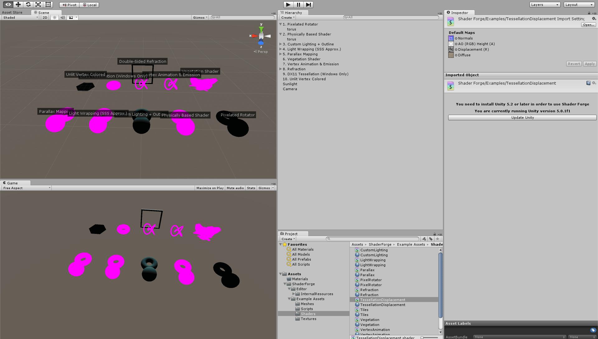 Shader Forge 1 24 in unity 5 0 1 / Feedback / Shader Forge